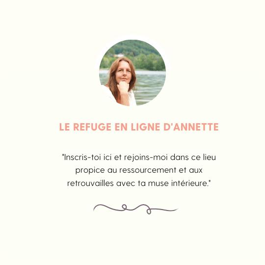 le refuge mensuel d'Annette